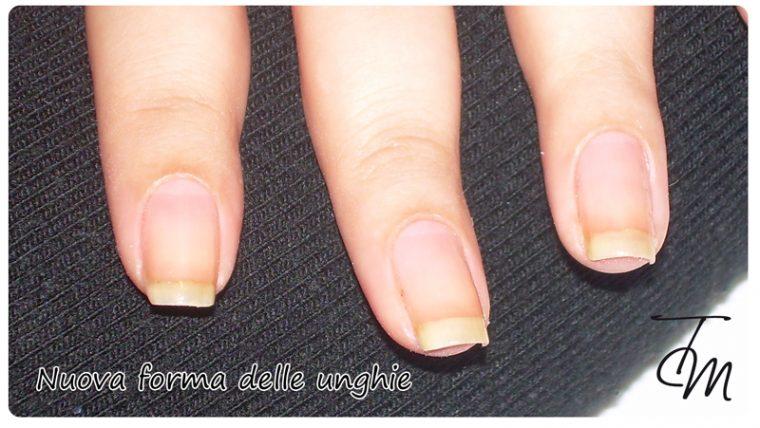 nuova forma delle unghie