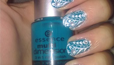 Tutorial Nail Art Damascato