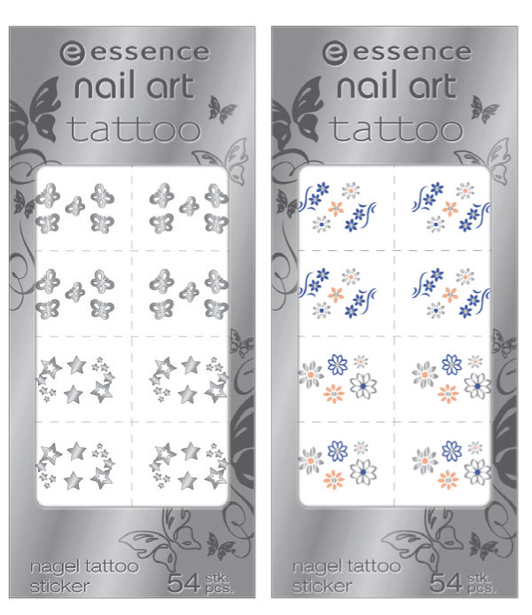 essence nail art tattoo