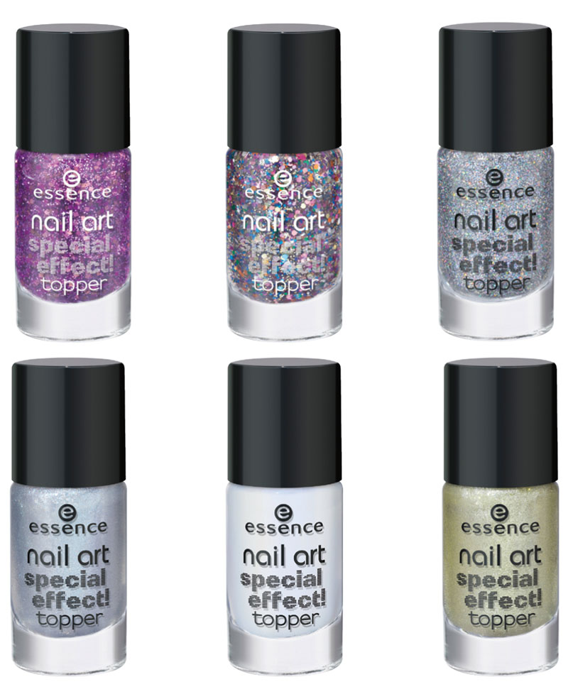 essence nail art top coat con effetti speciali