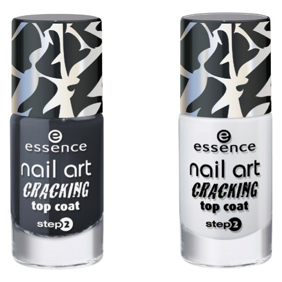 essence nail art top coat effetto graffiti