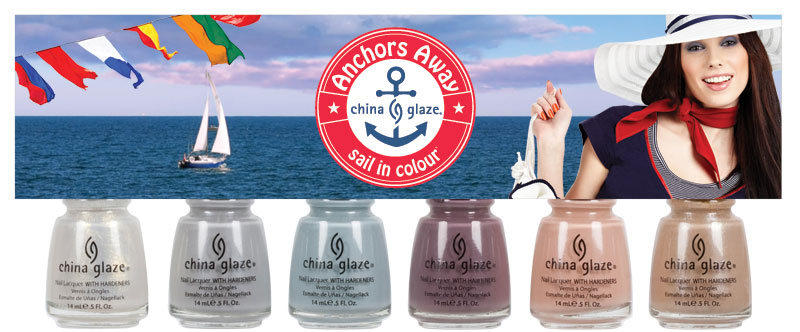 collezione Anchors Away china glaze