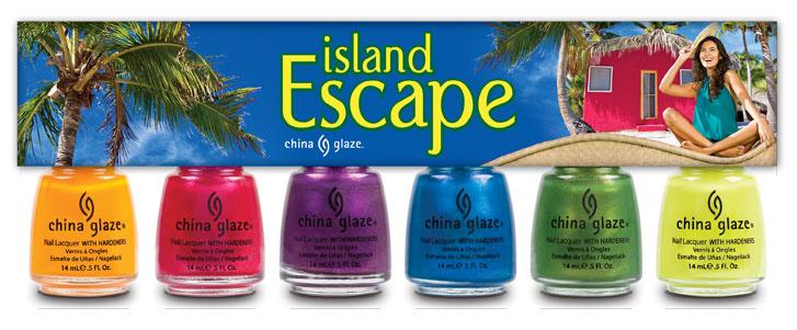 collezione island escape china glaze