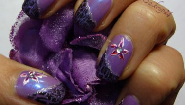 Tutorial Nail Art – Easy Flower