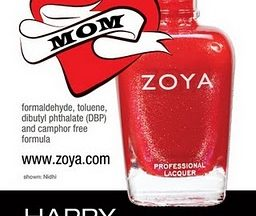 Zoya Nail Polish Nidhi Happy Mothers Day web