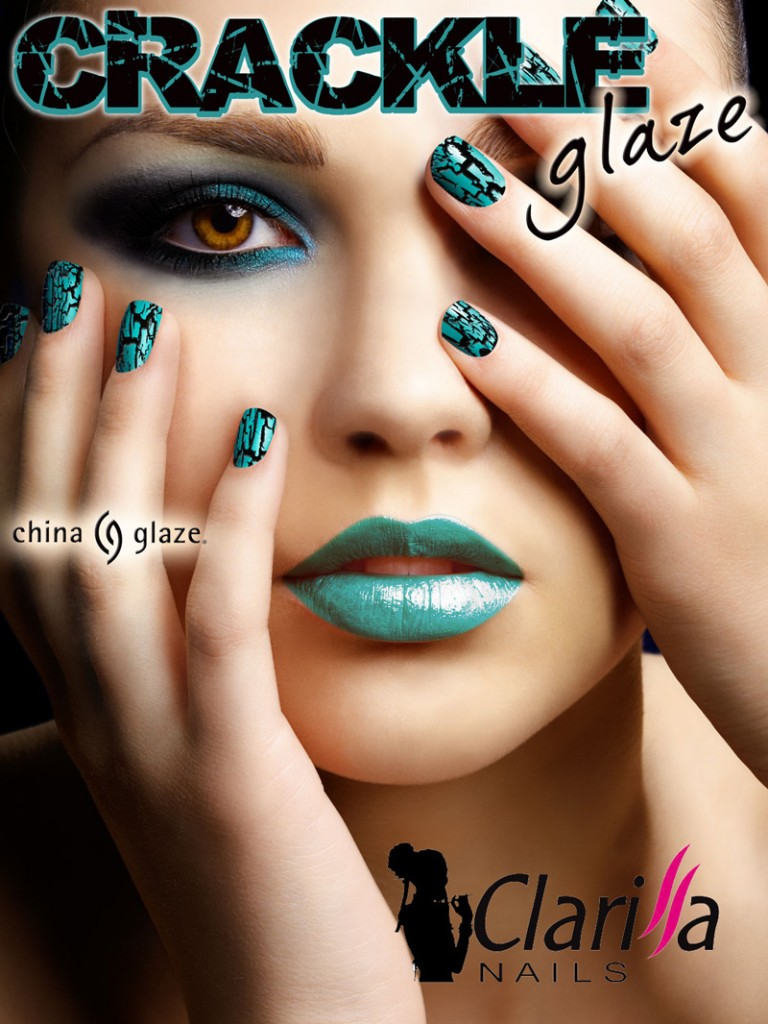 china glaze Crackle Glaze