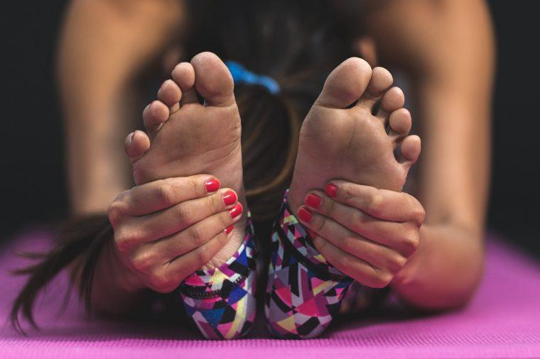 piedi doloranti