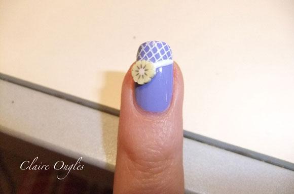 tutorial nail art fresh spring