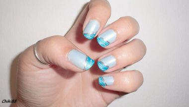 Tutorial Nail Art Graffiti French step