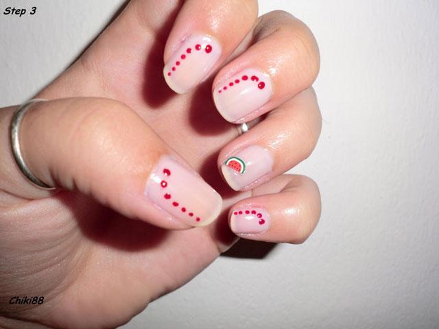 Tutorial-Nail-Art-Watermelon-step-3
