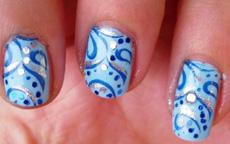 stamping Konad nail art