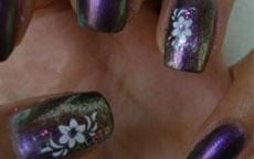 Camaleonte nail art