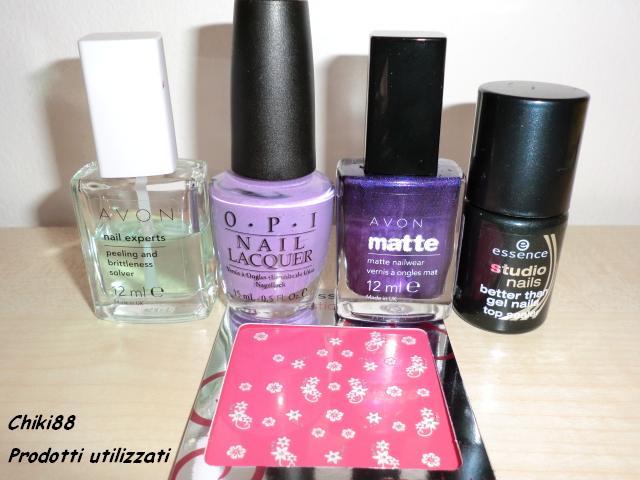 Tutorial-nail-art-Nails-bi-color-prodotti-utilizzati