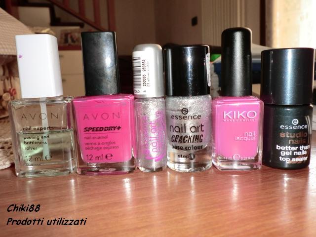 tutorial-nail-art-pink-Prodotti-utilizzati