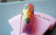 Tutorial Nail Art – Nail Art Flower Power