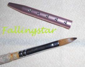 tutorial nails ricostruzione acrilico pennello e tappo