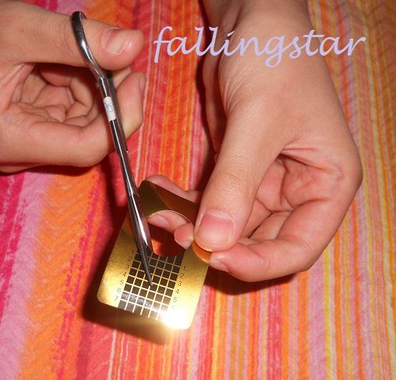 tutorial nails - stondatura attaccatura
