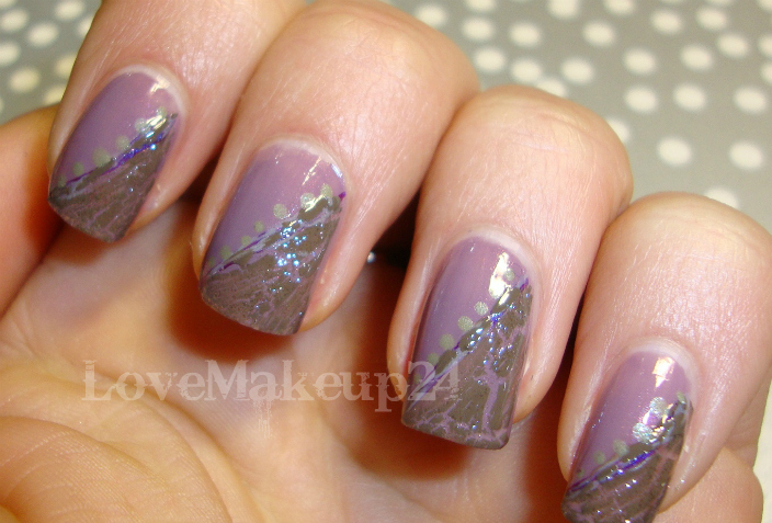 Tutorial Nail  Art - Liliac (foto1)- lovemakeup24