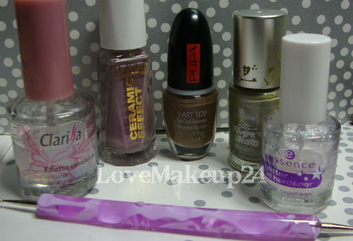 Tutorial Nail  Art - Liliac (foto2)- lovemakeup24