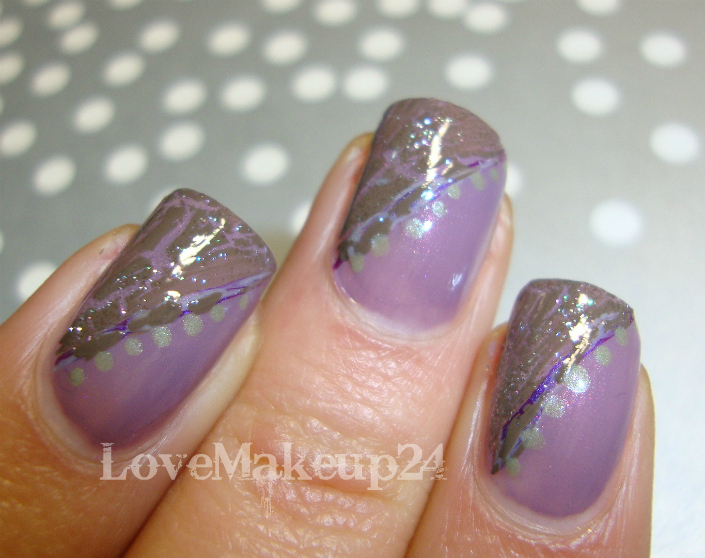 Tutorial Nail  Art - Liliac (foto4)- lovemakeup24