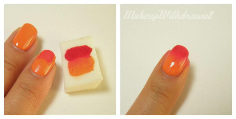 nail Gradient Tutorial