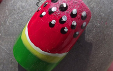 Estate Frutta Anguria nail art