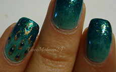 Tutorial Nail Art – Peacock