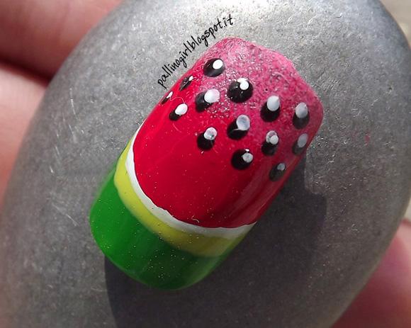 Tutorial-Nail-Art-Estate-Frutta-Anguria