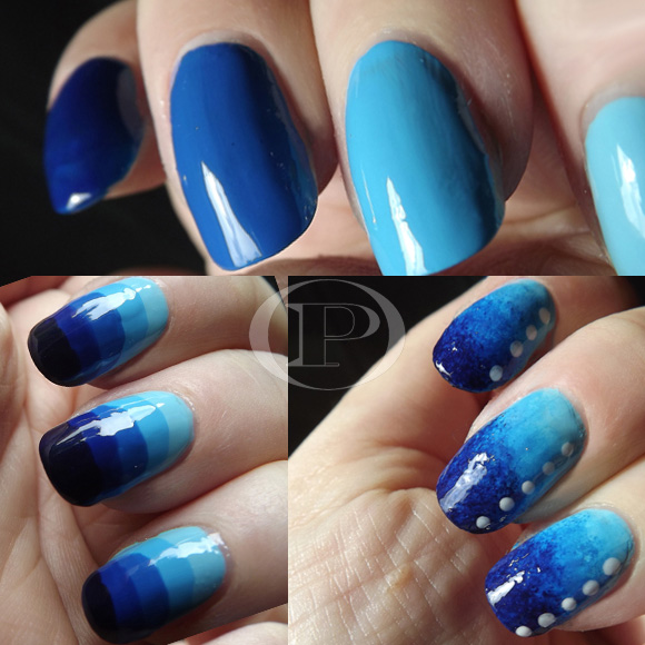 Tutorial-Nail-Art-Triple-Gradazioni-di-Blu