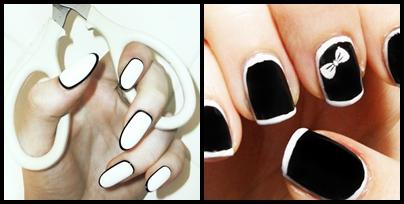 border manicure un nuovo nail trand1