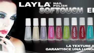 Layla Softouch Effect: i nuovi smalti di Layla Cosmetics