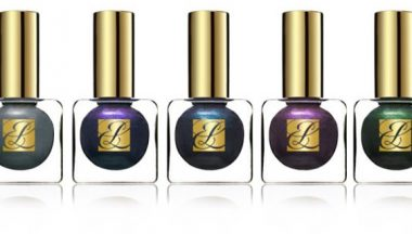 Estee Lauder Fall  Pure Color Nail Lacquer Beyond Black