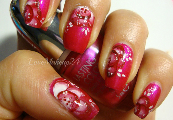 Tutorial-Nail-Art-One-Stroke-in-pink1