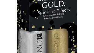 silver gold sparkling duo