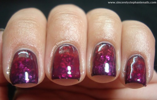 Jelly Sandwich Nail Art rosse