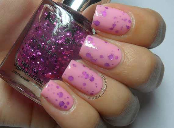 Jelly Sandwich Nail Art rosa
