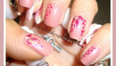 Tutorial Nail Art – Only Pink!