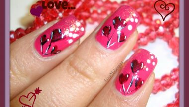 Tutorial Nail Art – Heart Baloons Nail Art
