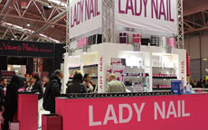 lady nails stand