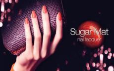 sugar mat nail lacquer kiko