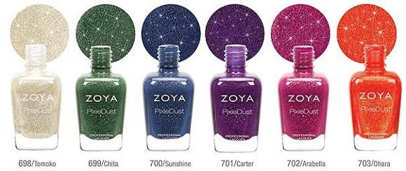 zoya pixie dust collezione autunno 2013