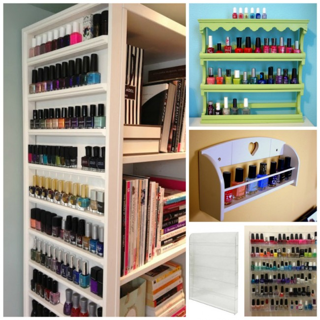 Nail-Polish-racks-ideas
