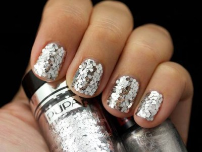 Party Queen Pupa silver paillettes
