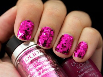 Party Queen Pupa fucshia paillettes