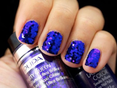Party Queen Pupa purple paillettes