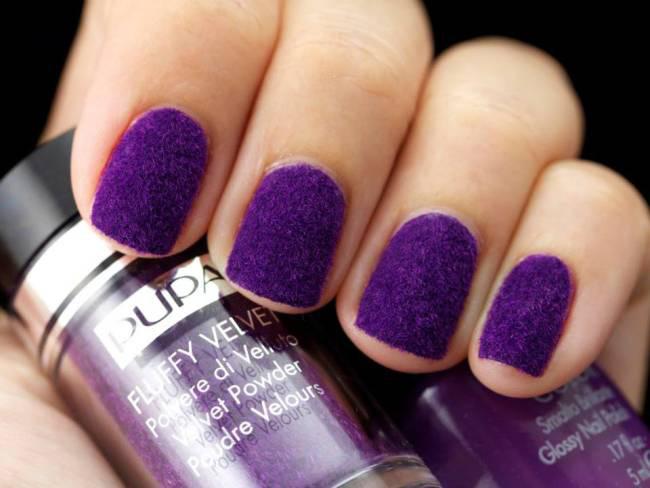 pupa-fluffy-velvet-purple-nail-art