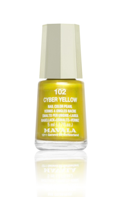 102 CYBER YELLOW