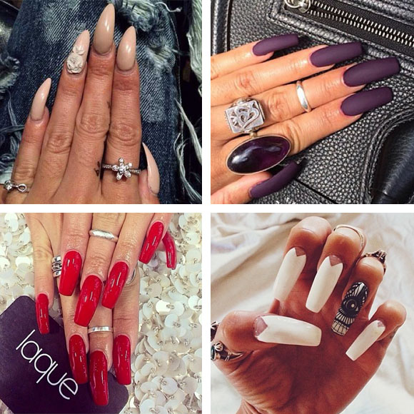 unghie delle star