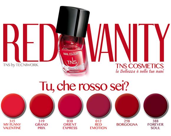 TNS Red Vanity