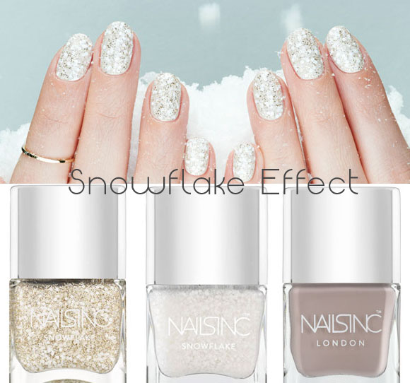 Nails Inc Snowflake Effect